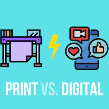 Print vs digital : et si les deux étaient complémentaires ?